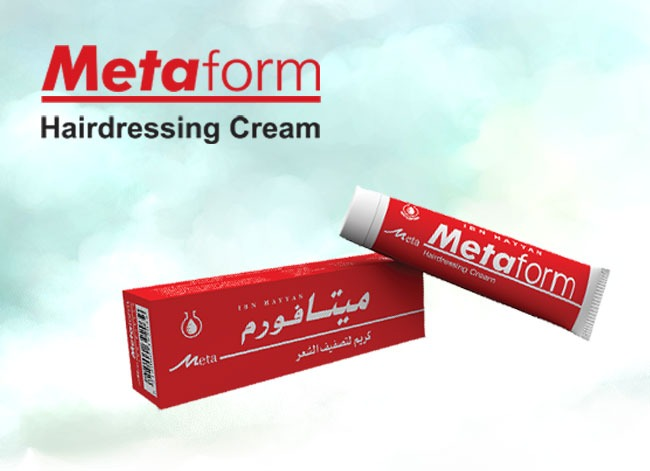 meta form – hairdressing cream